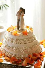 raw vegan wedding cake....i have no idea how that's possible. looks good though.