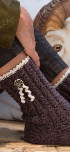 Ravelry: Trachtensöckchen by Firma Max Gründl Knitting Socks, Knitted Hats, Alpine Style, One Color, Fingerless Gloves, Arm Warmers, Most Beautiful Pictures, Ravelry, Knit Crochet