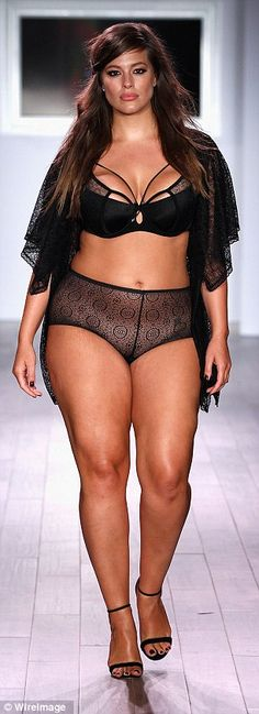 Ashley Graham...thick thighs save lives