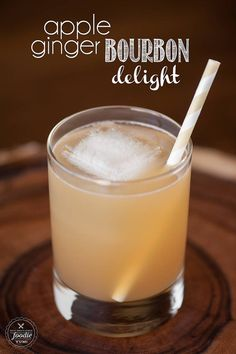 Apple Ginger Bourbon Delight | Self Proclaimed Foodie