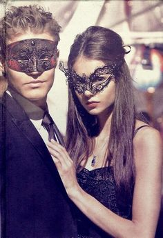 Elena and Stefan will attend-  A GRANDE MASQUERADE.