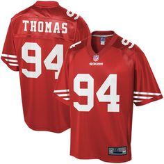 90919abb Solomon Thomas San Francisco 49ers NFL Pro Line Big & Tall Player Jersey -  Scarlet