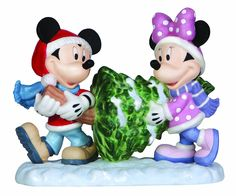 """Precious Moments, Disney Showcase Collection, Christmas Gifts """"A Season Of Joy And Togetherness"""", Bisque Porcelain Figurine, 131701 >>> Click image for more details. (This is an affiliate link) #CozyHomeDecor"""