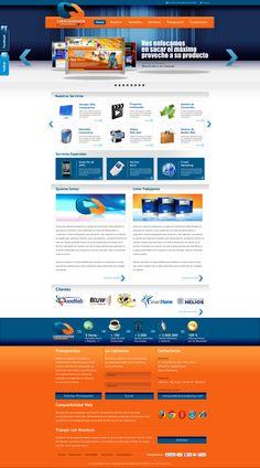 Look and feel Web on Behance Web Design, Behance, Feelings, Design Web, Website Designs, Site Design