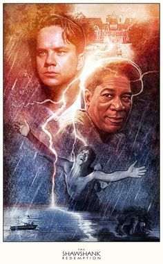 The Shawshank Redemption by Paul Shipper - Amazing color Paul!