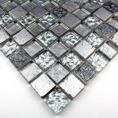 carrelage mosaique verre et pierre 1 plaque havanna 9,90? | salles ... - Plaque Mosaique Salle De Bain