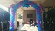 Underwater theme decoration in bangalore.