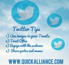 Here are some #twitter tips that can help you drive traffic back to your #website