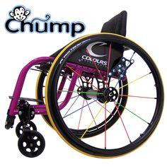 Colours Chump (Kinderrolstoel, Rolstoel Dagelijks Gebruik Wheelchair Daily Use for children)