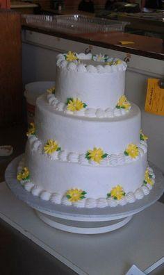 flower, 3-tier celebration cake