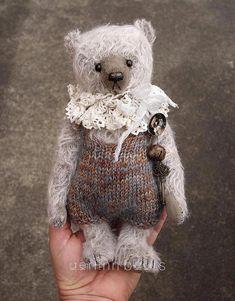 Sunday One of a Kind Mohair Artist Teddy Bear from by aerlinnbears