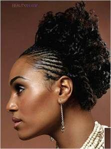 Phenomenal Cornrows Natural Black Hairstyles And Dark Brown Hairstyles On Short Hairstyles For Black Women Fulllsitofus