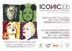 Love is pain and pain is art Show me your graffiti heart  Artworks by Madonna Promo  ICONIC2016 Palermo  Bobez Arte Contemporanea Palermo | Italy • 15 - 30 October 2016  ORARIO D' APERTURA : mar-sab/tue-sat 10.00-12.00 / 17,00-19.30  ICONIC Palermo Bobez Arte Contemporanea. Directed by Monica Schiera Segreteria organizzativa: Francesca del Grosso Consulenza allestimento: Alba Romano Pace http://www.bobezarte.com/  Photography Section a cura di Palermofoto ACSI Matteotti