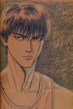 Vagabond: Artbook [Sumi] - Manga y Anime Anime Naruto, Manga Anime, Basketball Manga, Slam Dunk Manga, Inoue Takehiko, Manga Artist, Illustrations And Posters, Slammed, Book Art