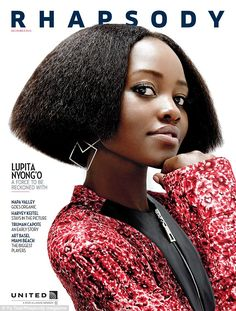 Looking back at her cinematic roots: Lupita Nyong'o might be an in-demand cover girl now, ...
