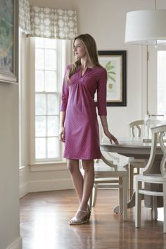 """Examiner.com """"Made To Order Women's Wear From Cape Cod's Own, Ellie Kai"""" showcasing the beautiful Priscilla dress"""
