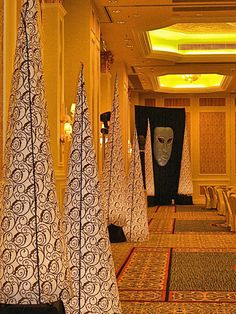 Venetian pattern inflatable cones, perfect for your Venetian themed event.  See more: http://www.theig.com