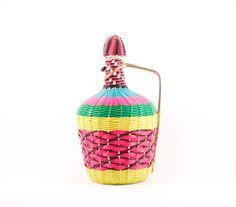 Vintage neon bottle by TheRetroBottega on Etsy, $19.00