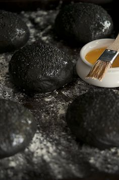 Black Squid Ink Bun recipe