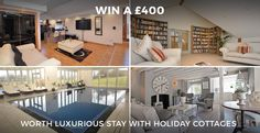 Win a £400 voucher with holidaycottages.co.uk