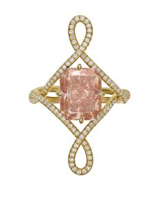 """JewelryConnoisseur by Rapaport on Instagram: """"[AUCTION RESULTS] We hope the buyer of this dreamy cut-cornered rectangular mixed-cut, 5.07-carat, fancy orangy pink diamond and…"""" Jar Jewelry, Gemstone Jewelry, Jewellery, Phi Theta Kappa, Poverty And Hunger, Family Presents, Colored Diamonds, Pink Diamonds, Heart Of Gold"""