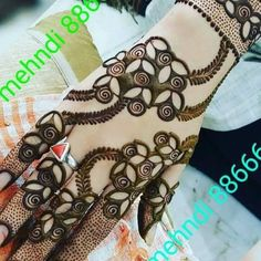 20 Best Tattoo Ideas for Girls in 2018 - Tattoo Design Gallery Khafif Mehndi Design, Mehndi Design Pictures, Unique Mehndi Designs, Mehndi Designs For Fingers, Beautiful Mehndi Design, Latest Mehndi Designs, Henna Tattoo Designs, Bridal Mehndi Designs, Heena Design