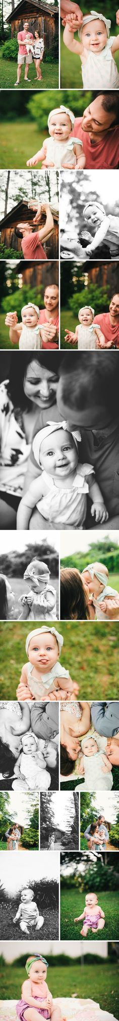 8 month old Aura! » Sara Wise Photography