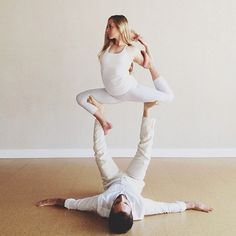 Acro yoga like a white lotus  My Acro Yoga video http://www.youtube.com/watch?