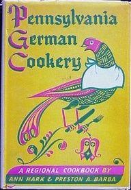 vintage German cookbooks