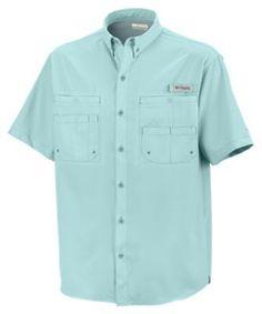 Columbia Tamiami II Short Sleeve Shirt for Men - Gulf Stream - 2XL