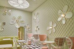 India Mahdavi Blends Hollywood and Paris With a Modern Beverly Hills Café