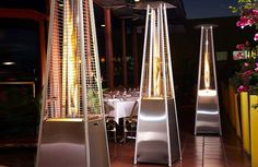 Outdoor Pyramid Gas Heater - Delivered