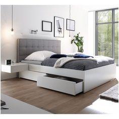 Fantastisch Hohes Bett 140x200 Bett 120x200 Weiss Bett Modern Bett 120x200