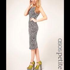 NWT, ASOS petite bodycon dress. New with tag. Cute dress.. ASOS Dresses