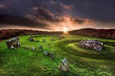 The Beaghmore stone circles (Co. Tyrone, Ireland)