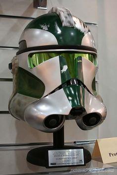 Clone Trooper Helmets Clone Trooper Helmet, Star Wars Helmet, Star Wars Clone Wars, Star Wars Art, Star Trek, Stargate, Star Wars Personajes, The Force Is Strong, Stuff And Thangs