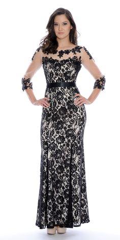 Decode Black Lace Dress 183174