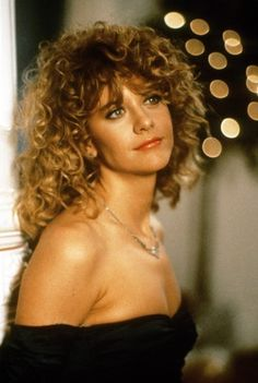 Meg Ryan's hair in the early 1990's.