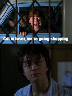 Harry Potter + Mean Girls.