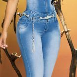 Cheviotto Jeans levantacola o push-up Valencia REF-11604