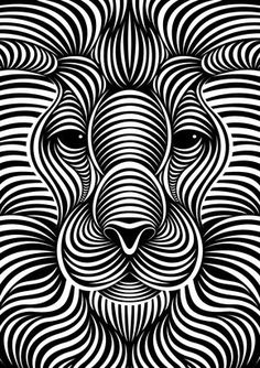 Lion : Faces III by Patrick Seymour on Behance