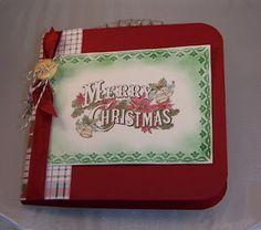 Elin's Elegant Designs: Christmas Mini Album.