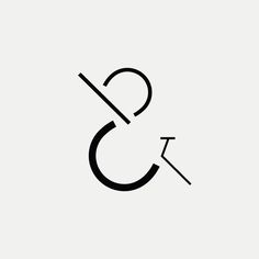 C&B Modern monogram by British freelance logo designer Richard Baird - richardbaird.com