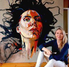 MORNING  oil on canvas 150x150cm, 2017