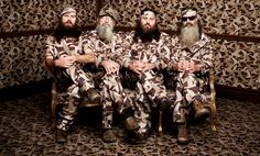 Camping, shouting and beards: watch an exclusive clip of Duck Dynasty | Radio Times