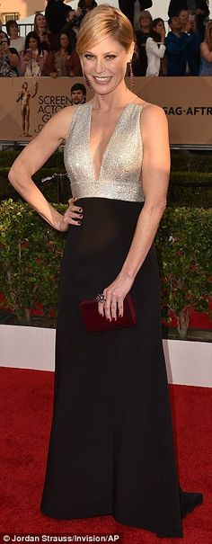 SAG Awards red carpet sees Eva Longoria and Alicia Vikander lead best dressed stars | Daily Mail Online