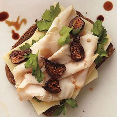 Sweet dried figs pair beautifully with leftover Thanksgiving turkey
