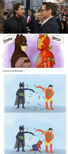 Aw poor Spider-Man lol