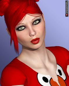 FW Cheryl for Victoria 4.2 / V 4+ Cheryl Hair **BUNDLE**