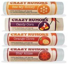 Crazy Rumors Lip Balms - Fall Flavors